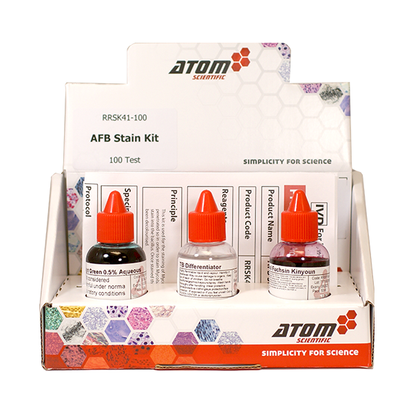 AFB Stain Kit (Light Green Counterstain)