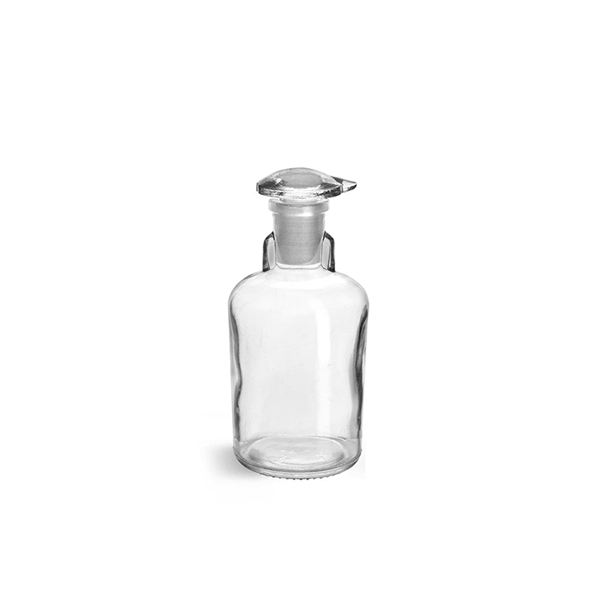 Dropping Bottle, Clear, Flat Top, Soda-Lime Glass, 50ml