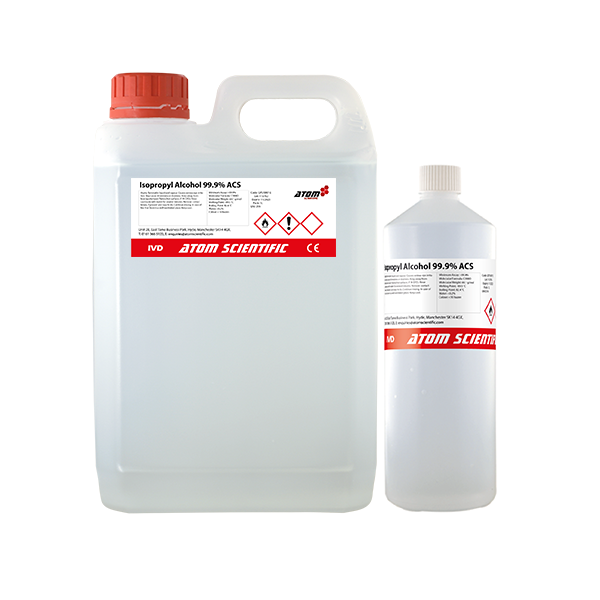 Isopropanol 99 9% ACS From Atom Scientific Ltd | Solvents